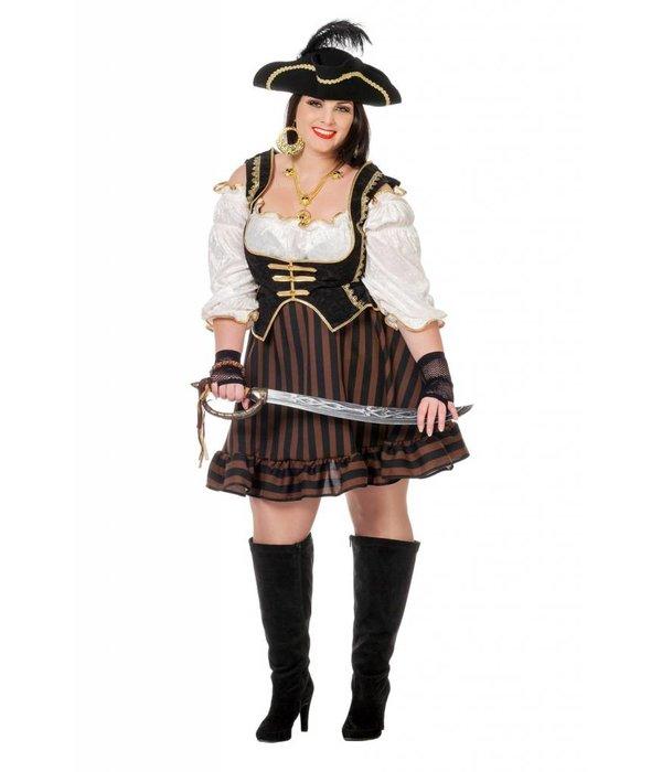 Pirate dame bruin