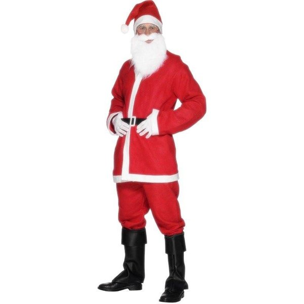 Kerstman heren verkleedkleding