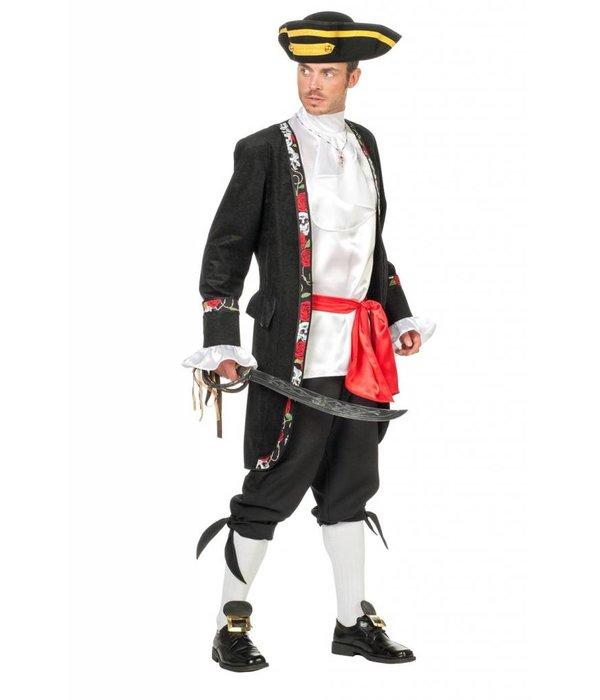 Piraat Roos elite 4-delig