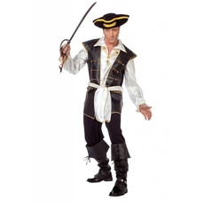 Piratenpak luxe lederlook
