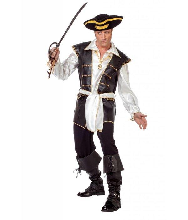 Piratenpak luxe lederlook