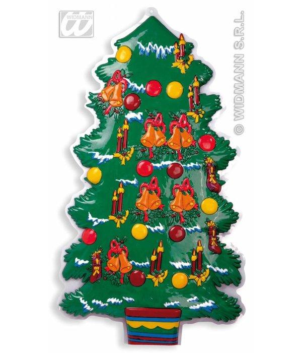 Wanddecoratie kerstboom