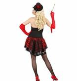 Burlesque meisje kostuum