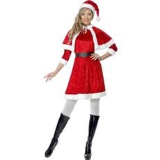Miss Santa kostuum 3-delig