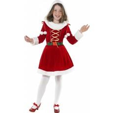 Kleine Miss Santa kostuum elite