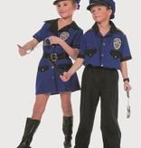 Politie jongen kostuum
