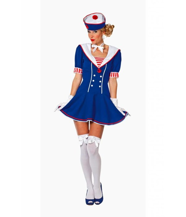 Matroosje carnavalskostuum vrouw