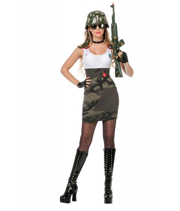 Jurkje Army babe