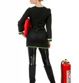 Brandweerjurkje zwart