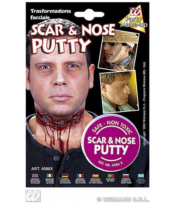 Make-up litteken en neus
