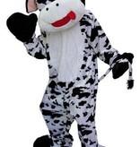 Koe verkleedpak groot pluche