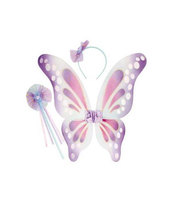 Luxe vlinderset in tasje