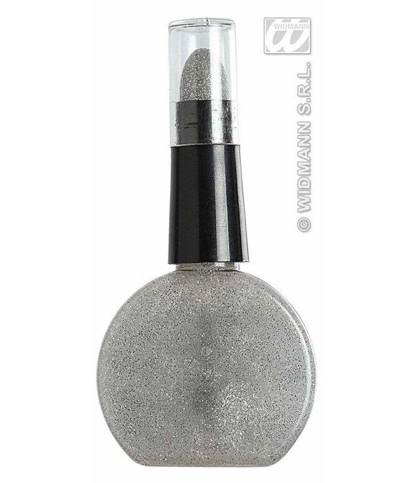 Combi nagellak en lippenstift zilver