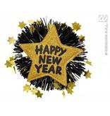 Broche Happy New Year goud