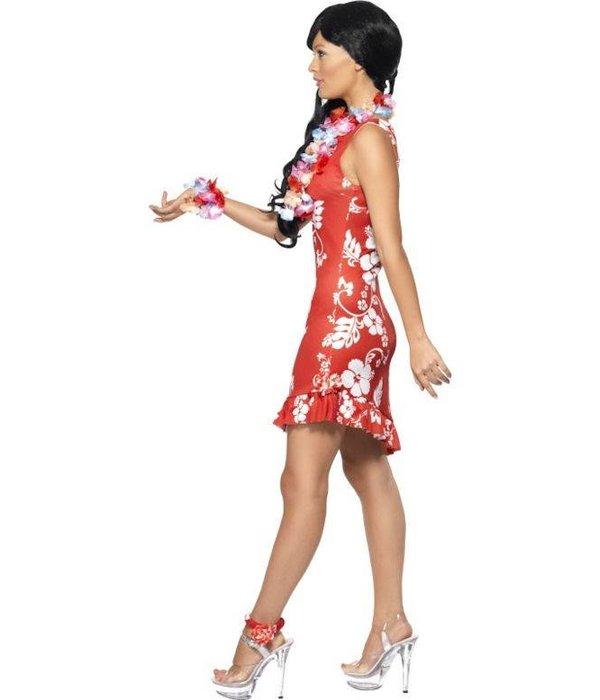 Hawaiiaanse beauty kostuum 3-delig