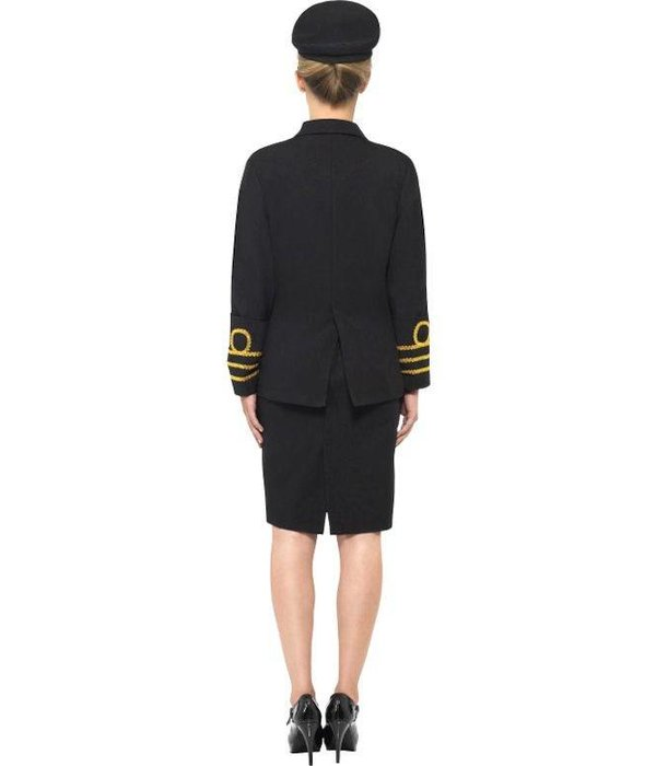 Marine Officier kostuum vrouw