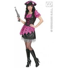 Sexy pink Piraten kostuum