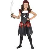 Piraten verkleedkleding meisje