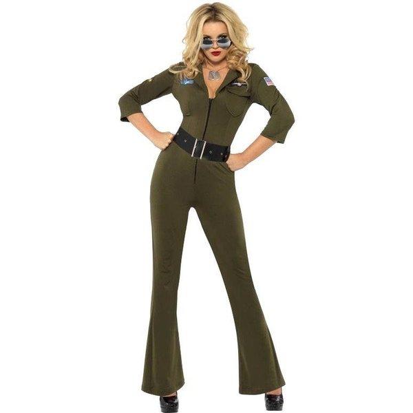 Top Gun kostuum vrouw