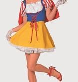 Wit prinsessenjurkje vrouw