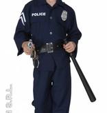 Politieman kostuum kind fiberoptisch