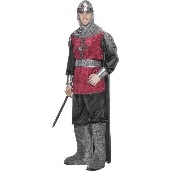 Middeleeuwse ridder kostuum man