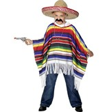Mexicaanse poncho kind