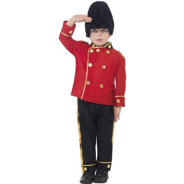 Engelse guard kostuum kind