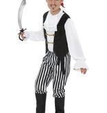 Piraten jongen verkleedkleding