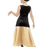 Jaren 20 Gatsby kostuum vrouw