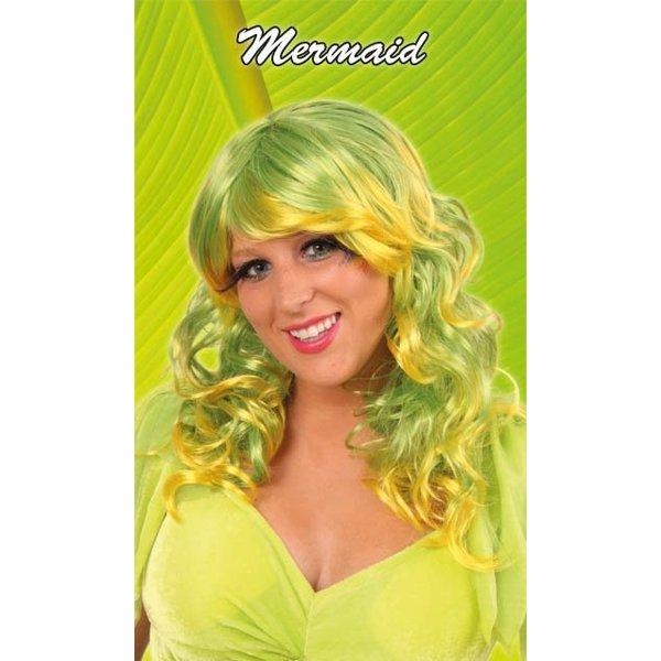 Pruik Mermaid