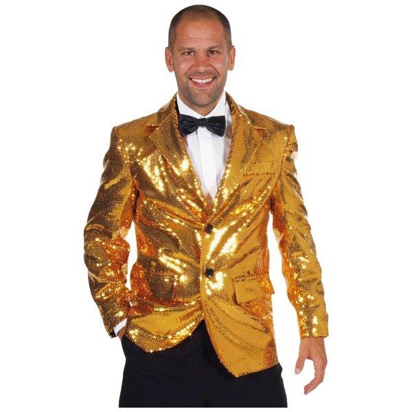 Colbert pailletten goud gevoerd elite