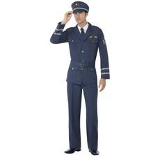 WW2 Luchtmacht kostuum blauw