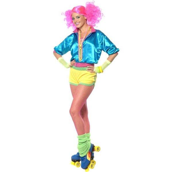 Jaren 80 Skater kostuum dames