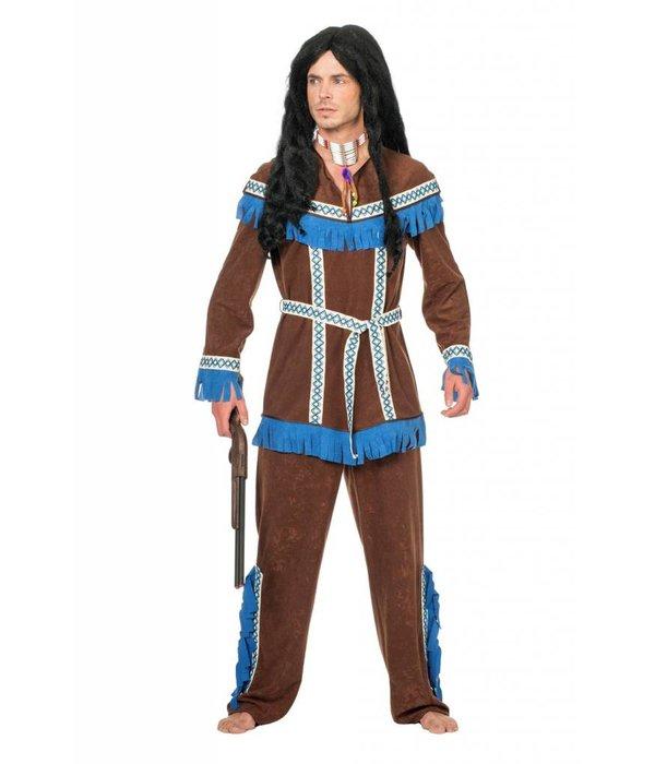 Indiaanse carnavalspak Tenderfoot man