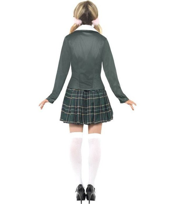 Schoolmeisje kostuum dame