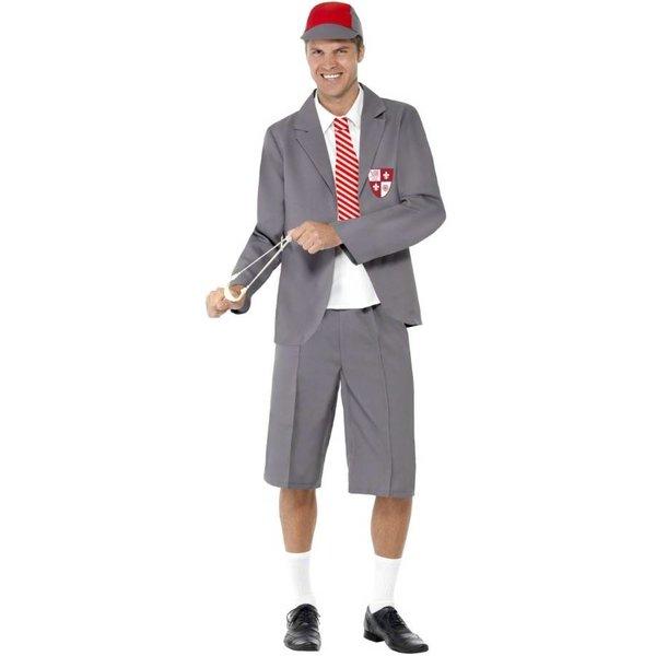 Schooljongen kostuum man