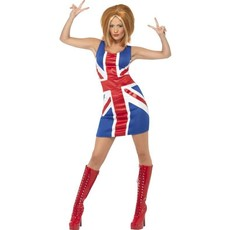 Ginger Spice girl jurk