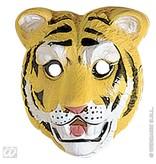 Plastic kindermasker tijger