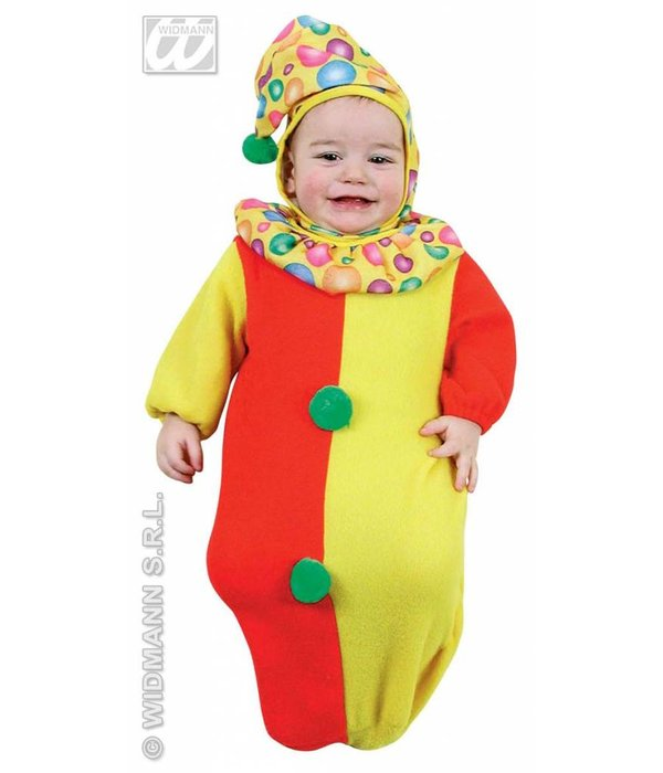 Trappelzak baby clowntje