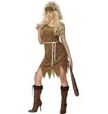 Holbewoner vrouw kostuum