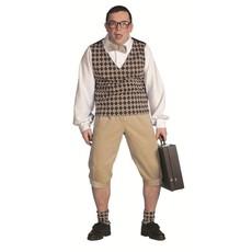 Nerd verkleedkleding klassiek