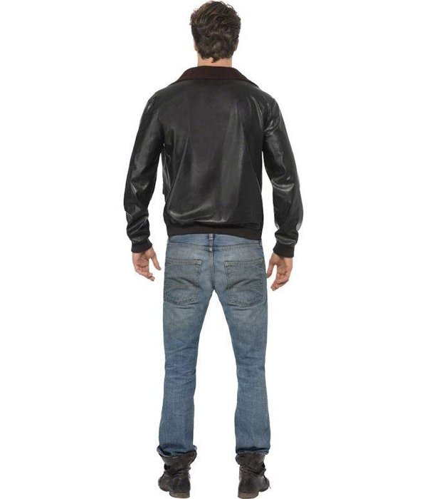 Top Gun bomber jas zwart
