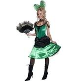 Western Saloon dame kostuum elite
