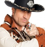 Cowboyhoed met safariband