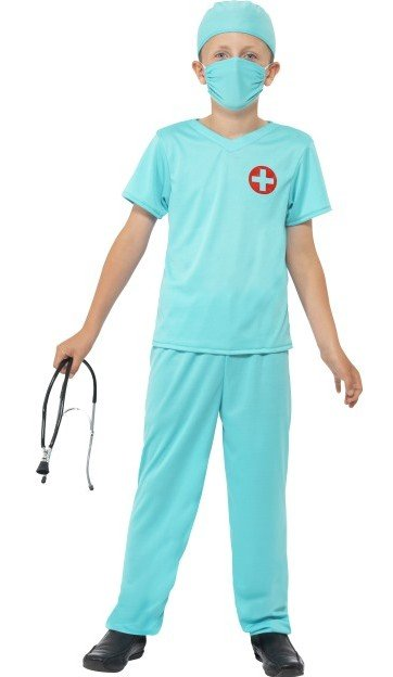 Chirurg Dokters kostuum kind