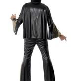 Elvis carnavalspak zwart/goud