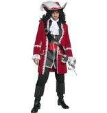 Authentieke Piratenkapitein kostuum