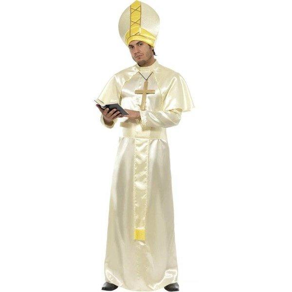 Paus kostuum man