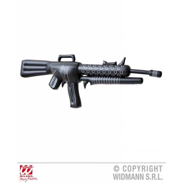 Opblaasbare machinegeweer